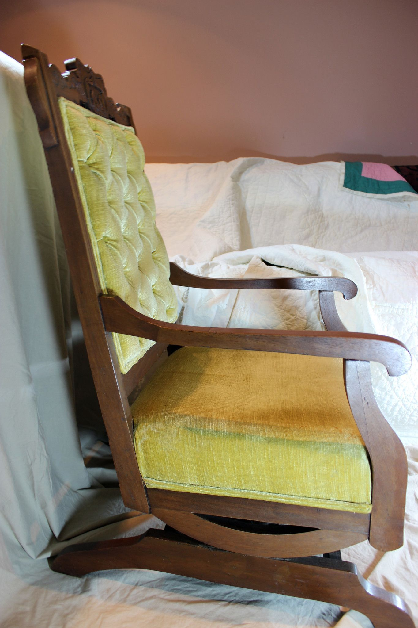 Vintage Platform Rocking Chair e day soon