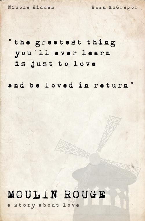 Moulin Rouge Poster by quidprosno.deviantart.com on @deviantART
