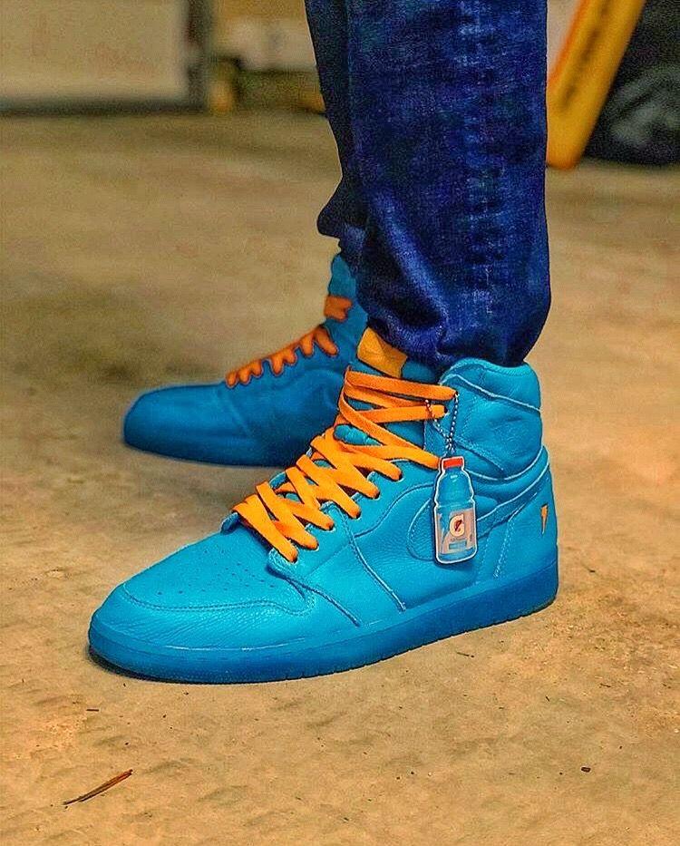 49ca1305ea Gatorade x Nike Air Jordan I Tenis, Air Jordan De Nike, Zapatillas De  Baloncesto
