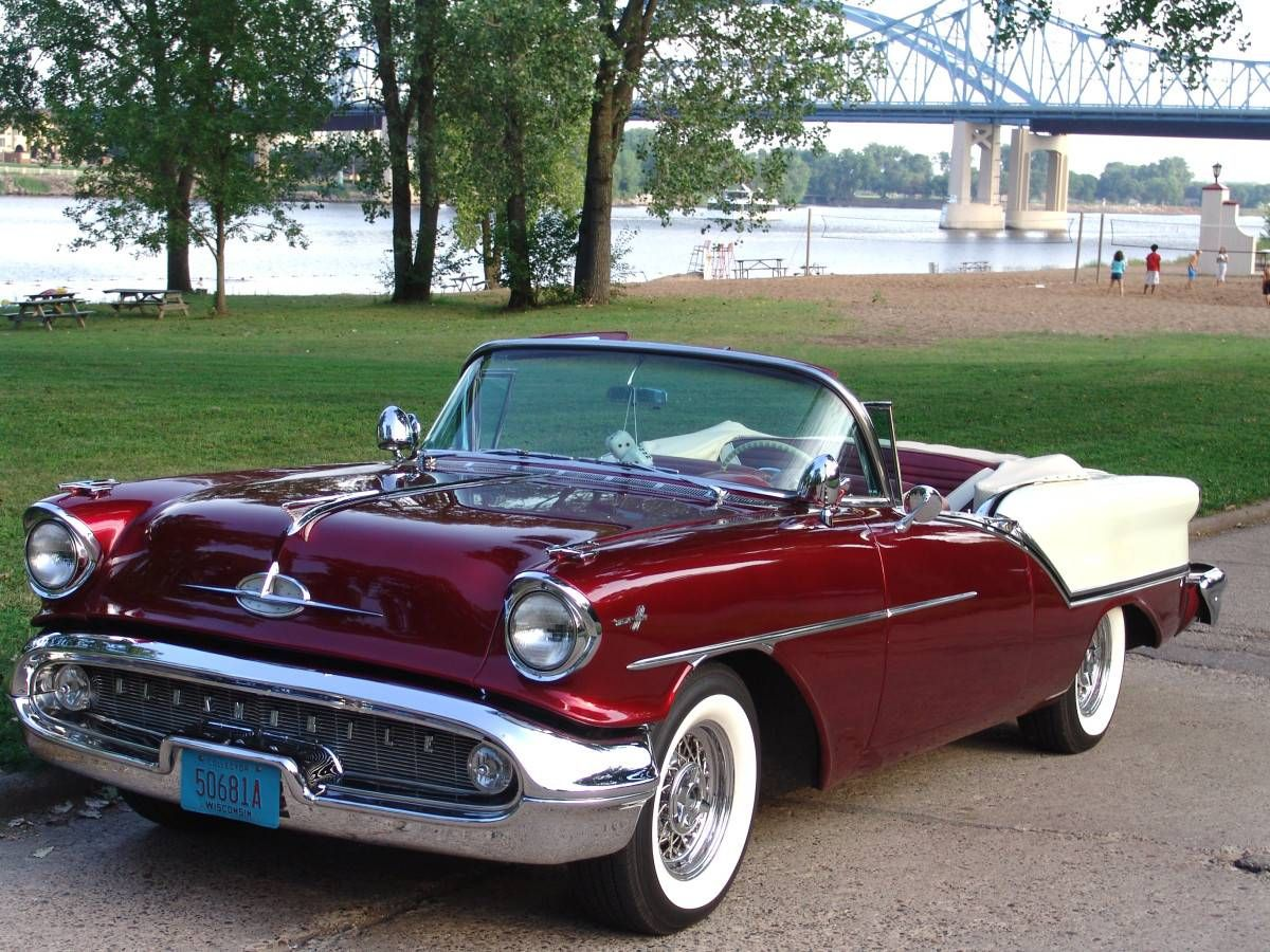 Olds 1957 Super 88 convertible | Old Rides 5 | Pinterest ...
