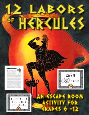 12 Labors of Hercules Escape Room Puzzle Game | 12 labors of ...