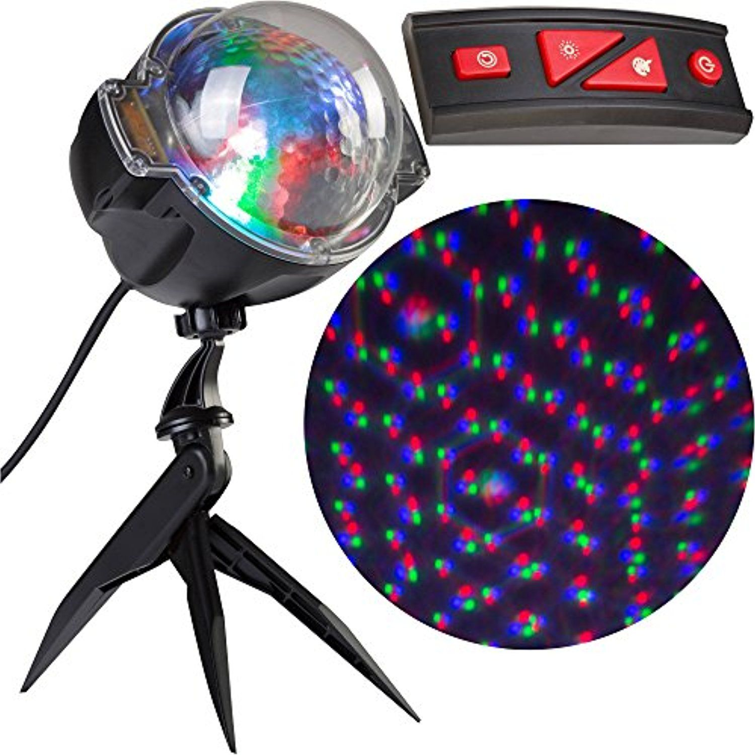 Lightshow Projection Points Of Light, Deluxe with Remote, 98 Programs Christmas Lights -- Awesome products selected by Anna Churchill
