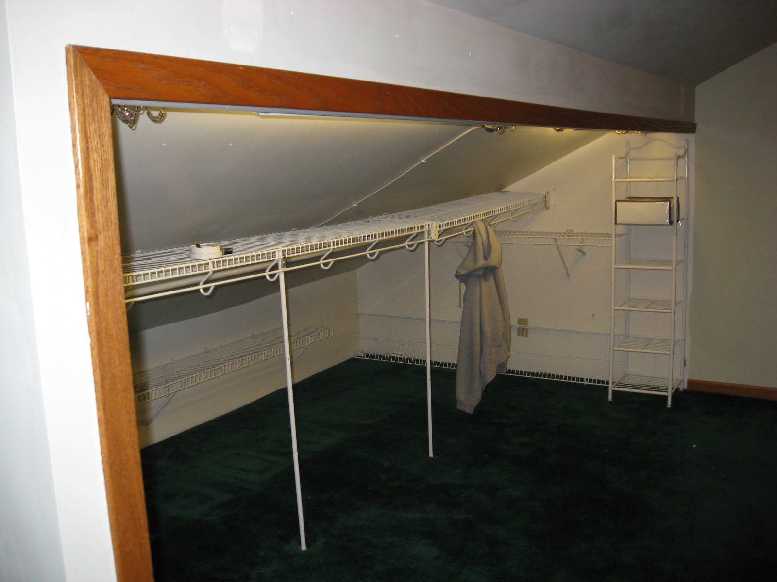 knee wall closet ideas Google Search Home Improvement Ideas