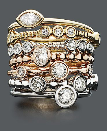 Gorgeous stackable rings from Macy s My STYLE