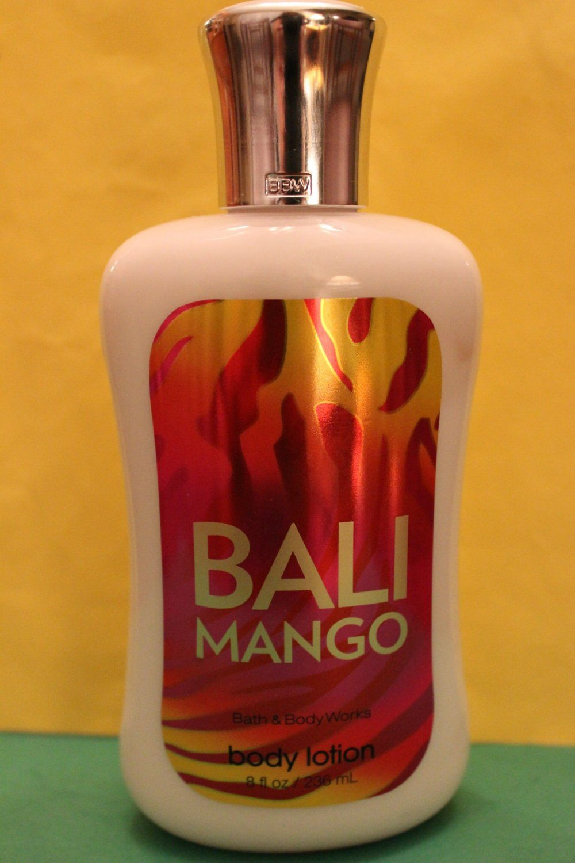 Bath Body Works Bali Mango Lotion Large Full Size Bath And
