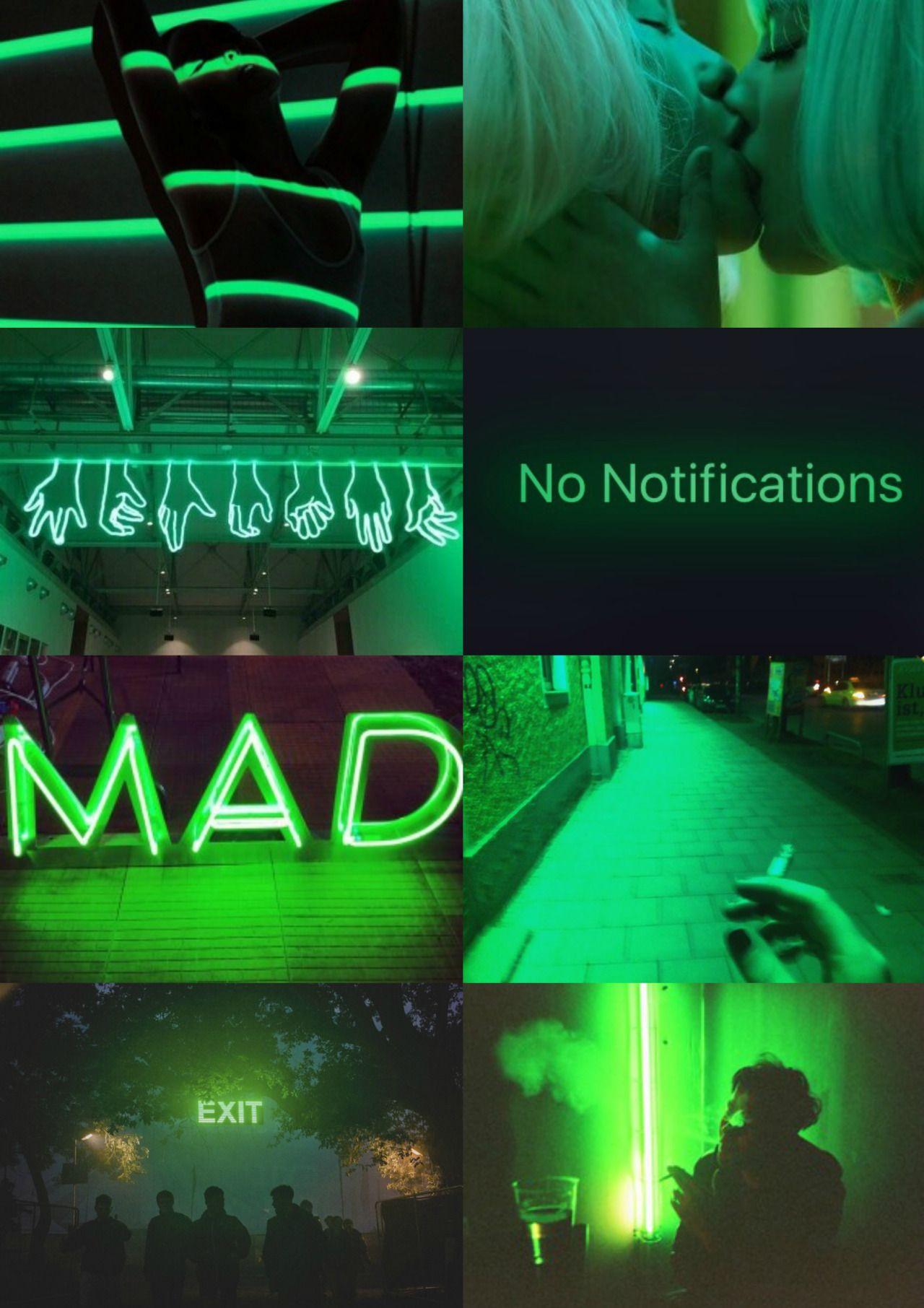 Green Collage Ilika