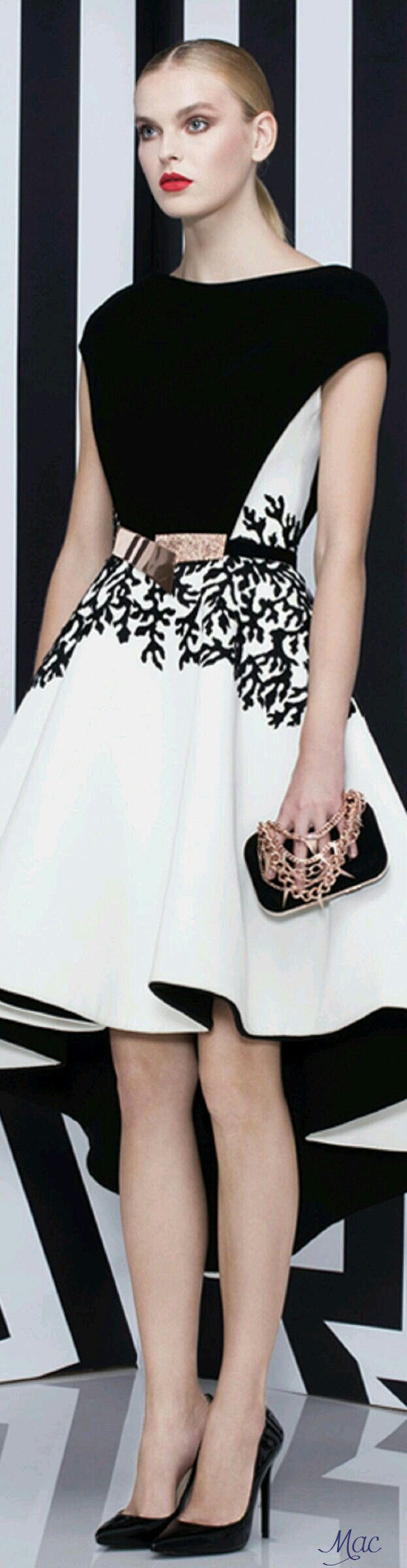 Black And White Fashion Plate Pinterest Black Gowns And Fashion