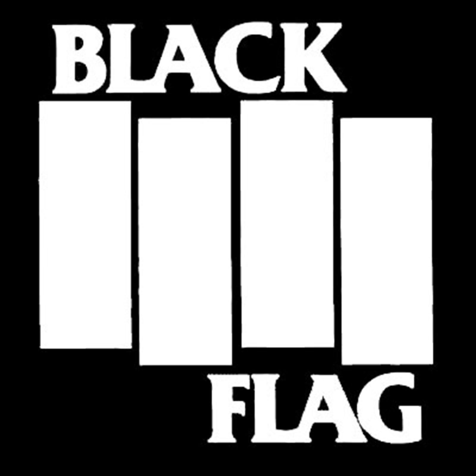 Black Flag Jpg 1600 1600 Logos De Banda Friz Preto E Branco