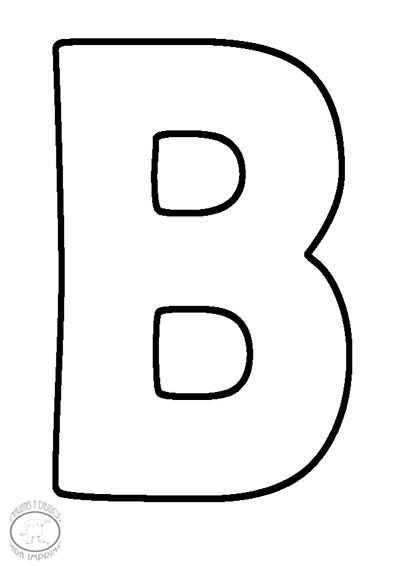 Letras Calcar Grandes Para