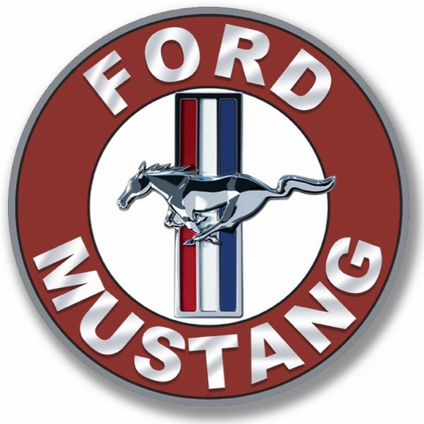 ford mustang 17 5 cm avto logo en 2018 pinterest voiture mustang et logo voiture. Black Bedroom Furniture Sets. Home Design Ideas