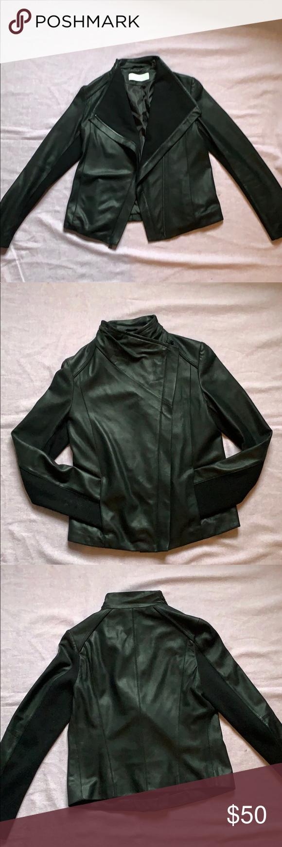 Tahari Leather Jacket Leather Jacket Jackets Genuine Leather Jackets [ 1740 x 580 Pixel ]