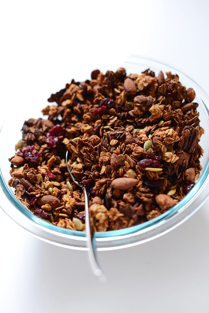 Sweet Potato Granola Minimalist Baker Recipes Recipe Granola Recipes Baker Recipes Vegan Granola Recipe