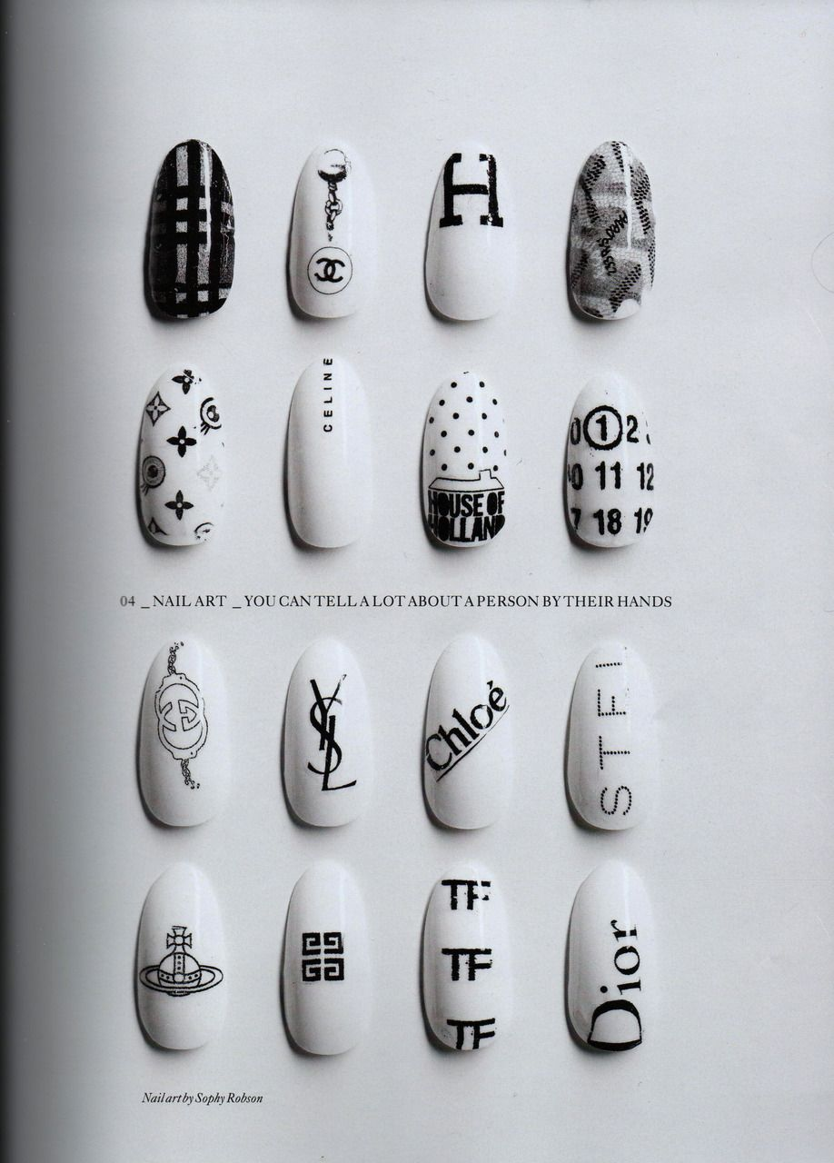 Fashion nails, literally