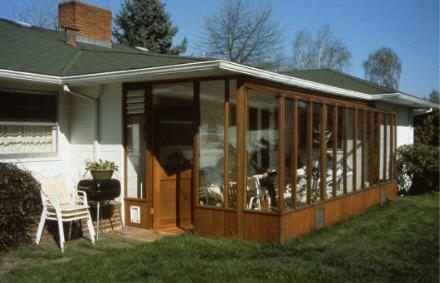 solarium/sunroom/greenhouse addition