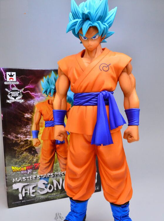 Anime Dragon Ball Z Super Saiyan Son Goku Statue PVC Figure Model Doll Toy Gift