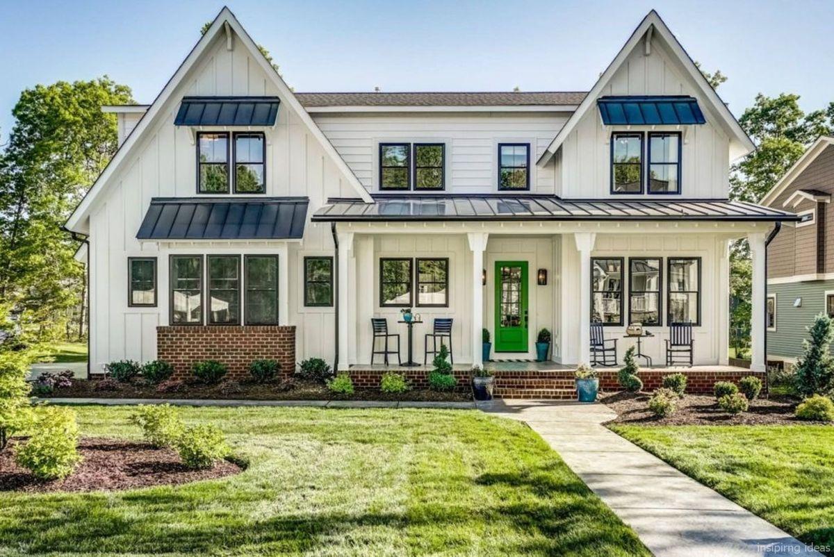 08 99 modern farmhouse exterior color schemes ideas in - Rustic home exterior color schemes ...