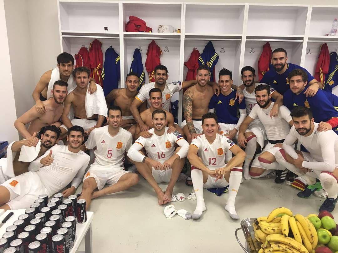 2016-10-09 21:17:21Una buena victoria fuera de casa. Seguimos nuestro camino./ A good away win. On track. #VamosEspaña