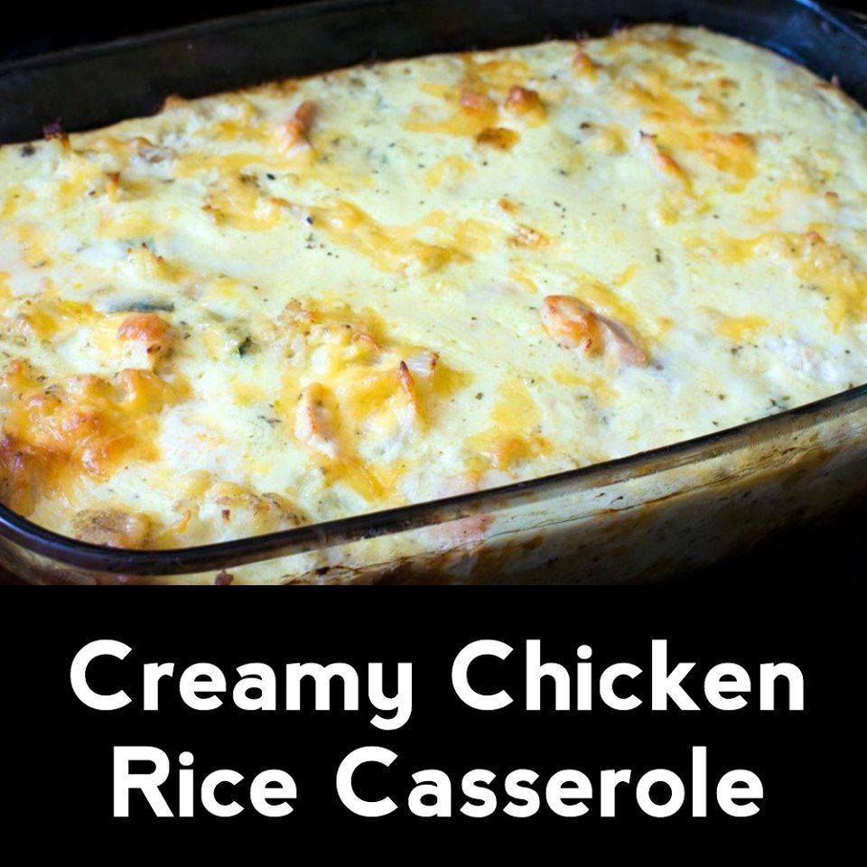 It can be hard to put our love for the humble casserole into words because there's just so much to love about them, but if we had to pick one single reason, it would certainly #creamychickencasserole