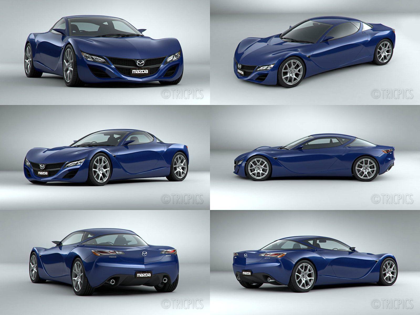 Mazda Concept [Thatu0027s One Sleek Little Number! I Like This