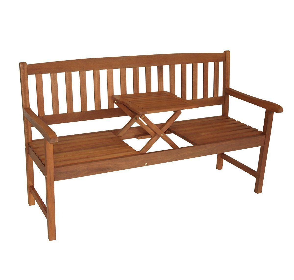 Gartenbank Mit Ausklappbarem Tisch Gartenbank Holz Gartenbank
