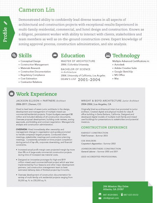 True Scout  Template Creative Cv And Personal Branding