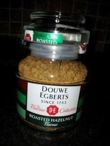 Douwe Egberts Hazelnut Flavoured Coffee Only 2 Calories