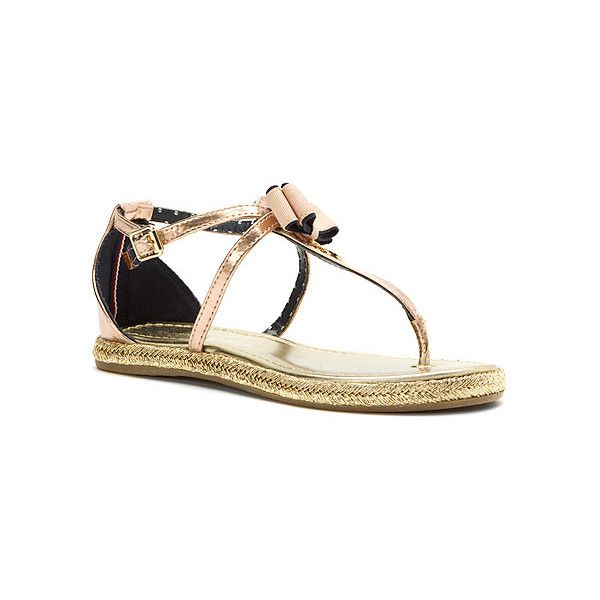 6df4fcdb3 Tommy Hilfiger Sandy H Charm Sandals ( 13) ❤ liked on Polyvore featuring  girls