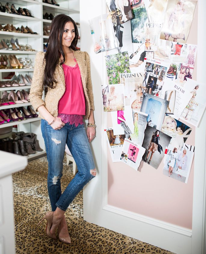 My workspace exciting news pink peonies by rach for Rachel parcell closet