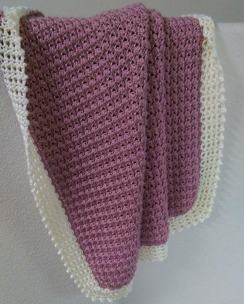 Crochet For Children: Textured Baby Blanket - Free Pattern | Crochet ...