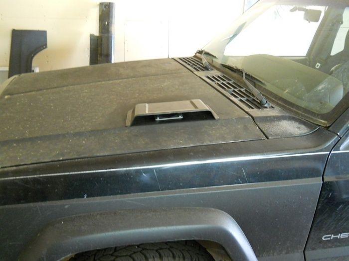 J8 Inspired Hood Scoop Jeep Cherokee Forum Jeep Xj Jeep