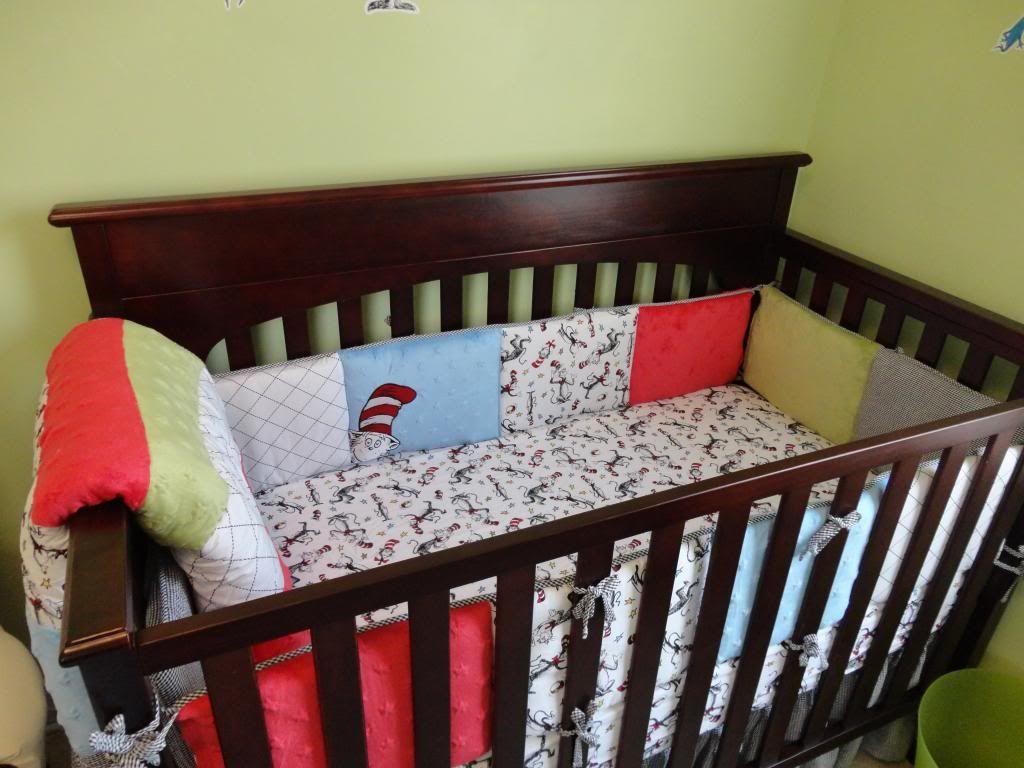Dr Seuss Crib Bedding Set