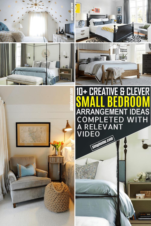 10 small bedroom arrangement ideas a simple list ideas how