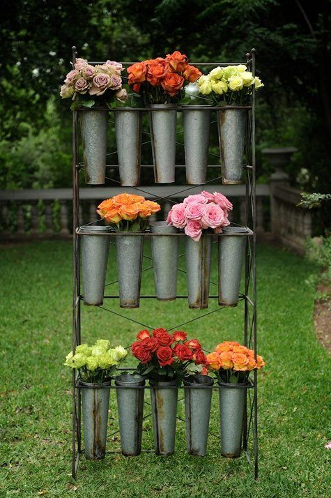 I love these bouquet holders.