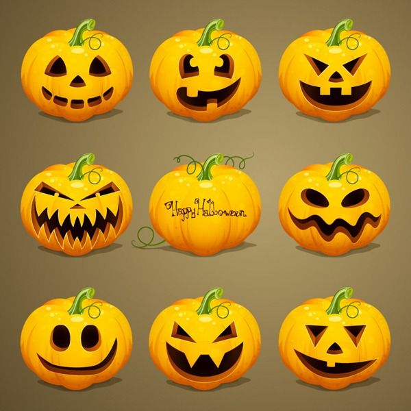 Watch this funny cartoon for kids with. Cartoon Pumpkin Head Design Vector Graphics Scary Halloween Pumpkins Halloween Pumpkins Pumpkin Tattoo