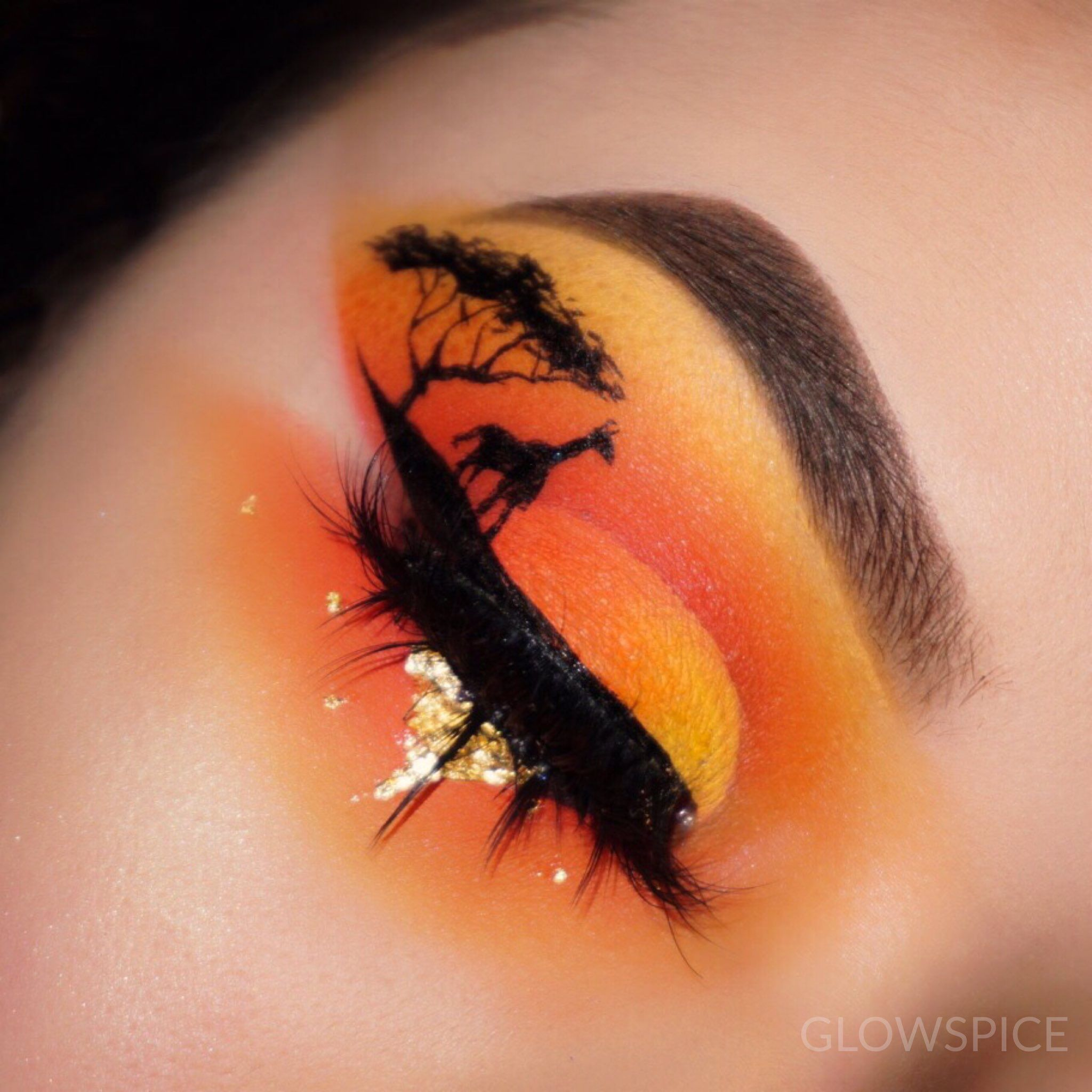 Beautiful Eye Makeup Lionking Fancy Makeup Crazy Eye Makeup