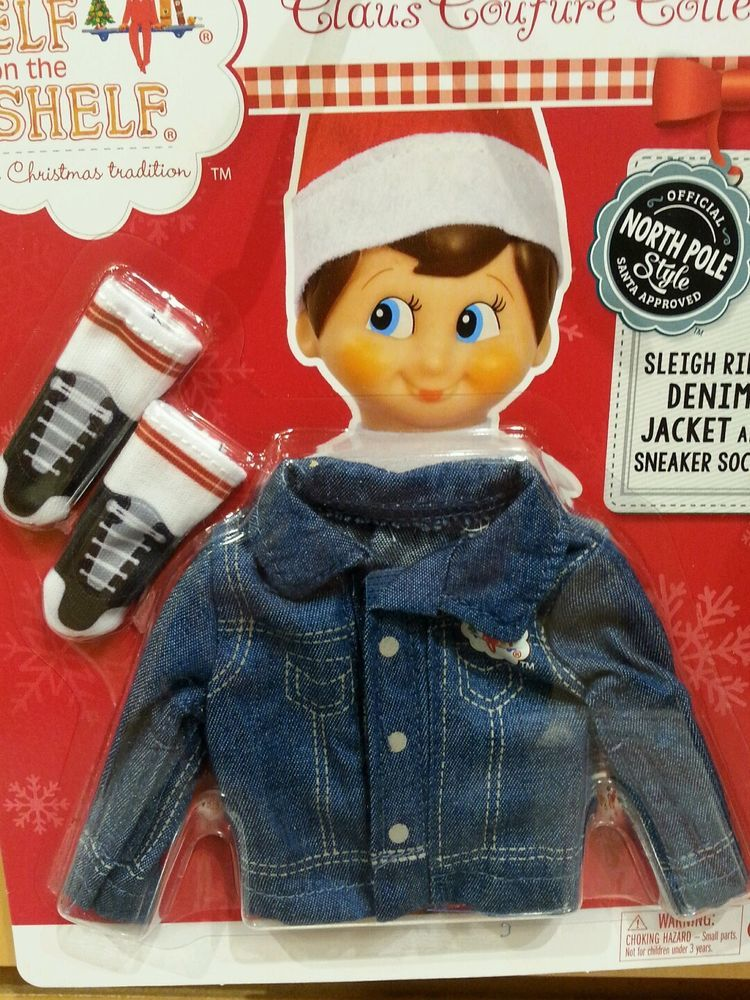 Details About The Elf On The Shelf Couture Rain Coat For Girl Or