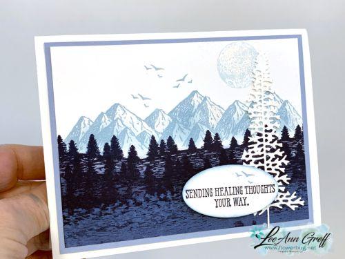 Mountain Air; a gorgeous scene with tutorial!