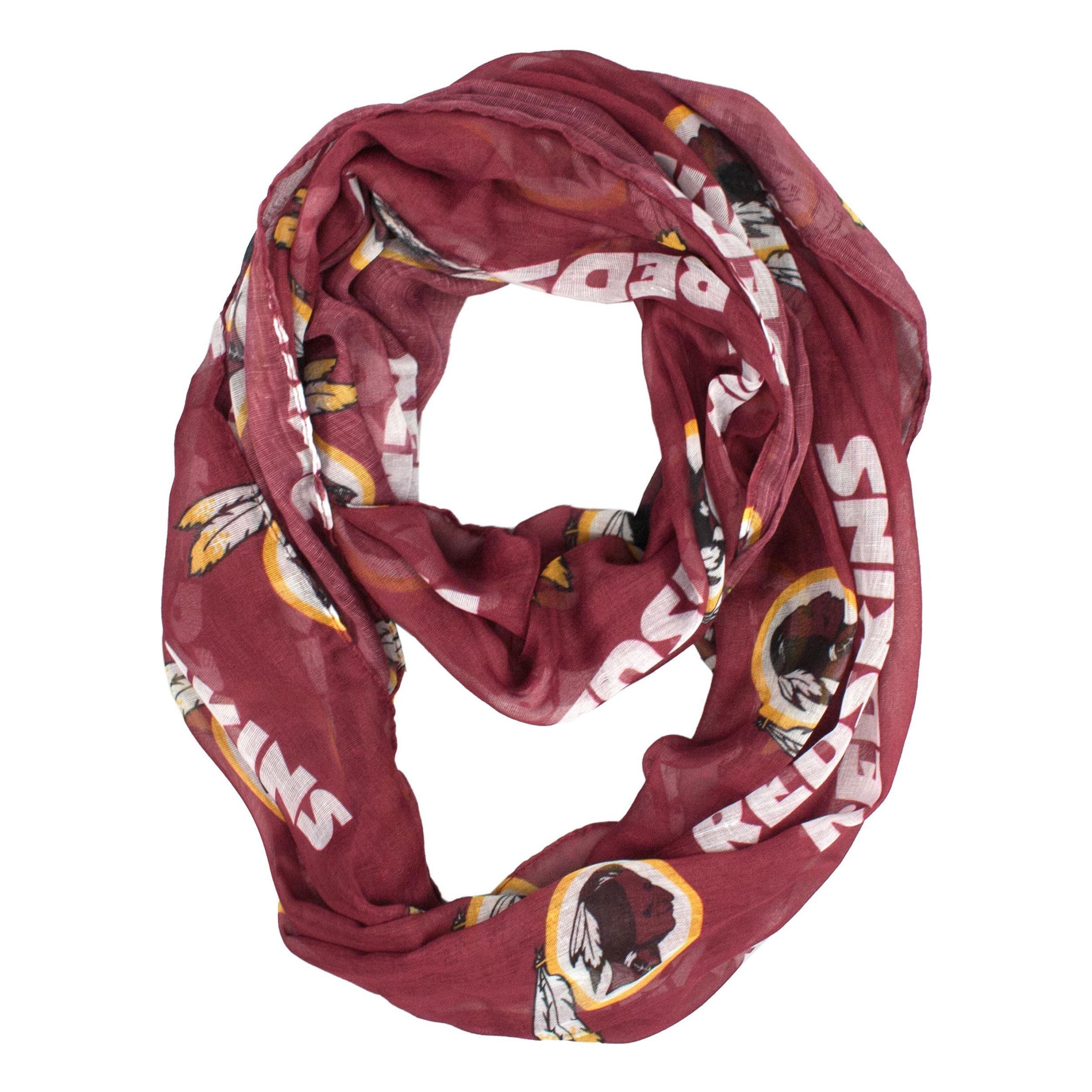 Little Earth Washington Redskins NFL Sheer Infinity Scarf