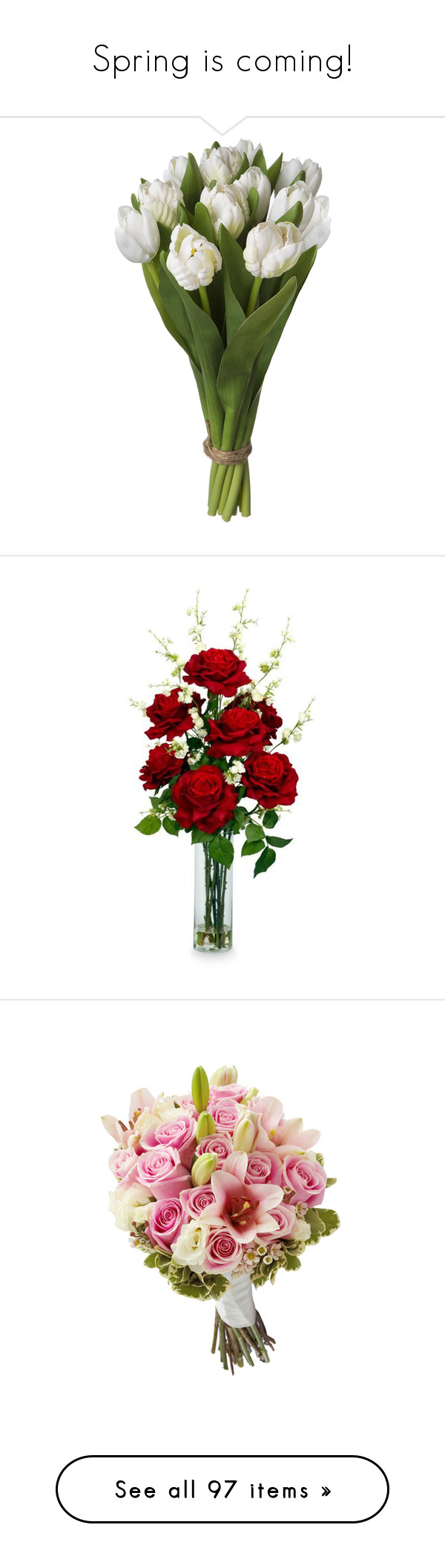 Home decor artificial flowers  Spring is coming