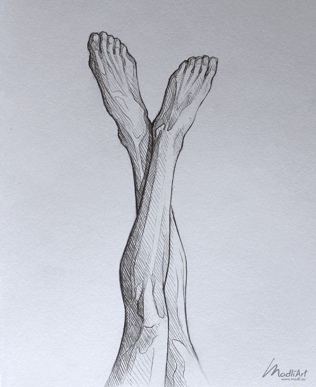 Sketchbook drawing of legs close up I Anatomy study Pencil Art idea I Legs feet ...