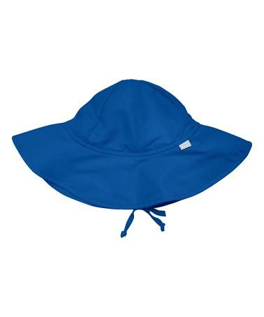 Royal Blue Brim Sun Hat - Infant & Toddler #zulily #zulilyfinds