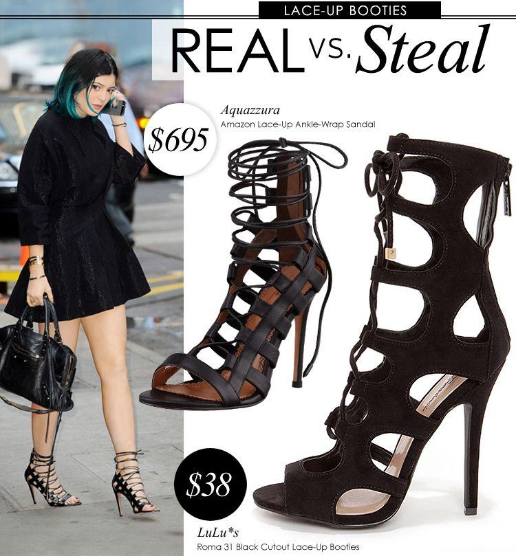 1e2baf8a9b5950 Fashion    Real vs. Steal – Aquazzura Amazon Sandals at LuLus.com!
