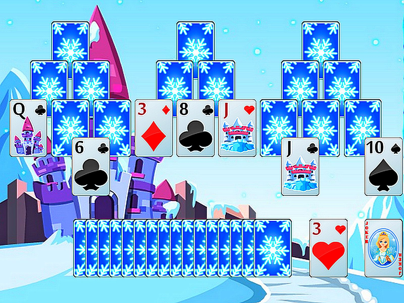 Frozen Castle Solitaire Frozen castle, Solitaire games