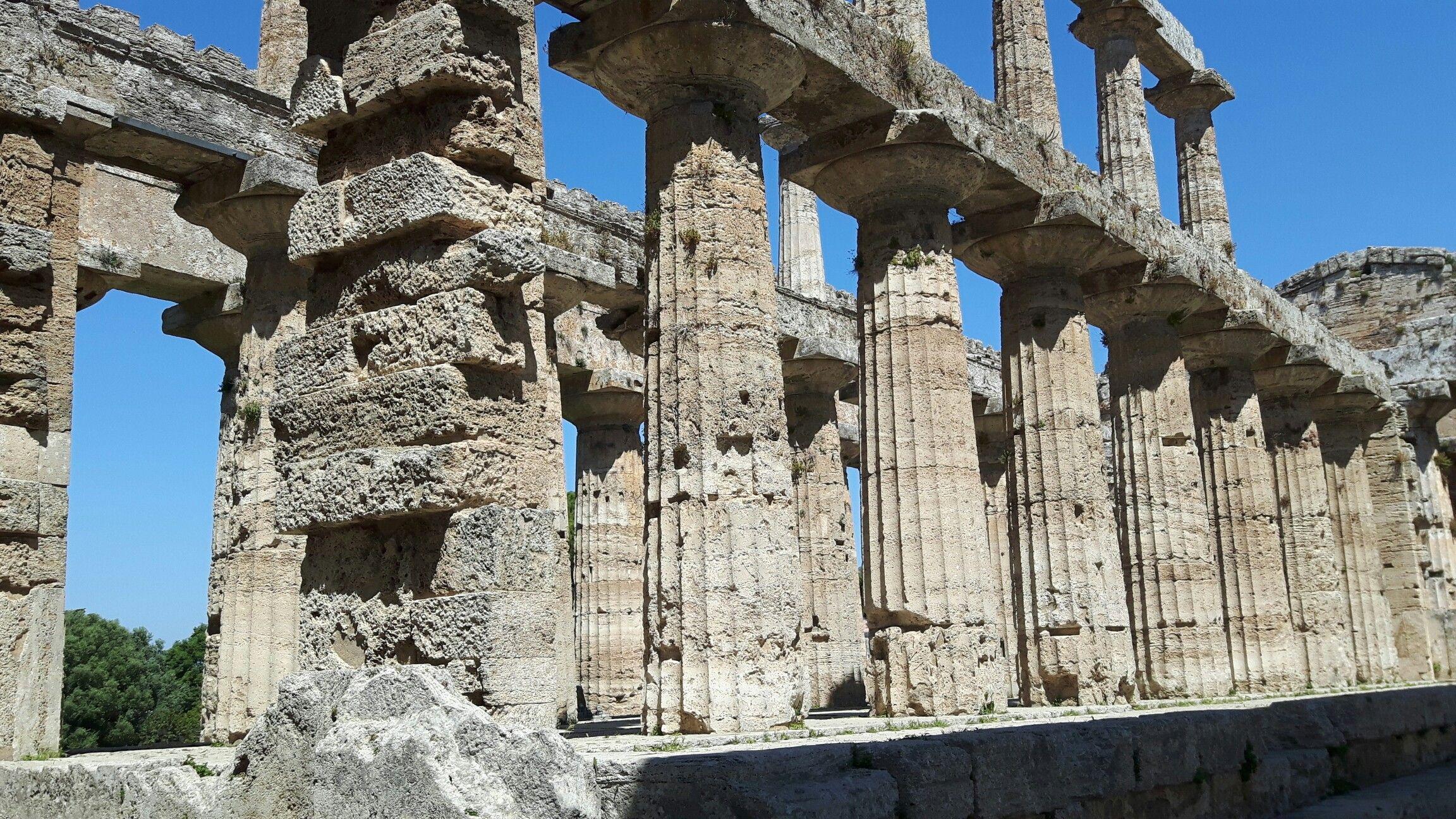 Tempio di Nettuno o di Zeus o di Apollo. 450 a.C. Paestum