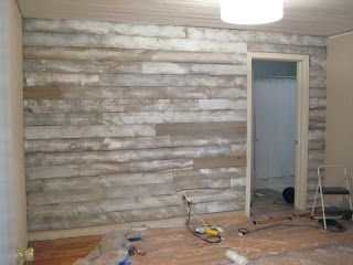 White Wash Shiplap Instructions For Distressing And Washing