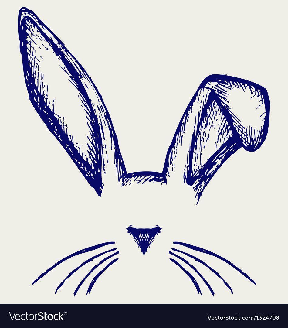 Little Rabbit In 2021 Rabbit Illustration Rabbit Silhouette Beautiful Rabbit