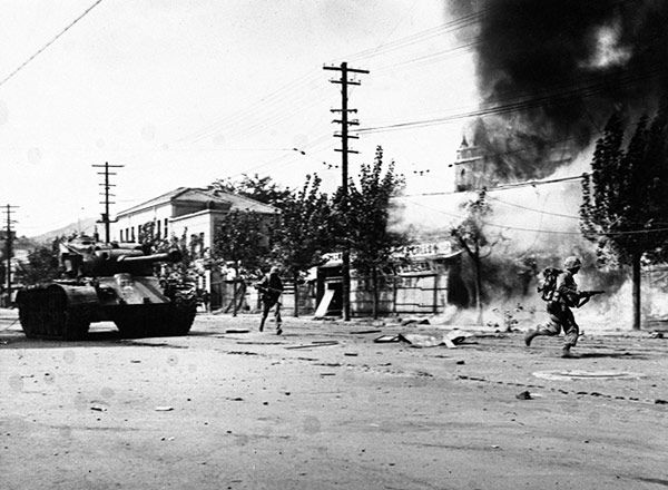 much of seoul was destroyed in vicious street battles in