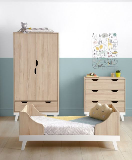 Lawson 3 Piece Cot Bed Set with Wardrobe | Baby\'s room | Pinterest ...