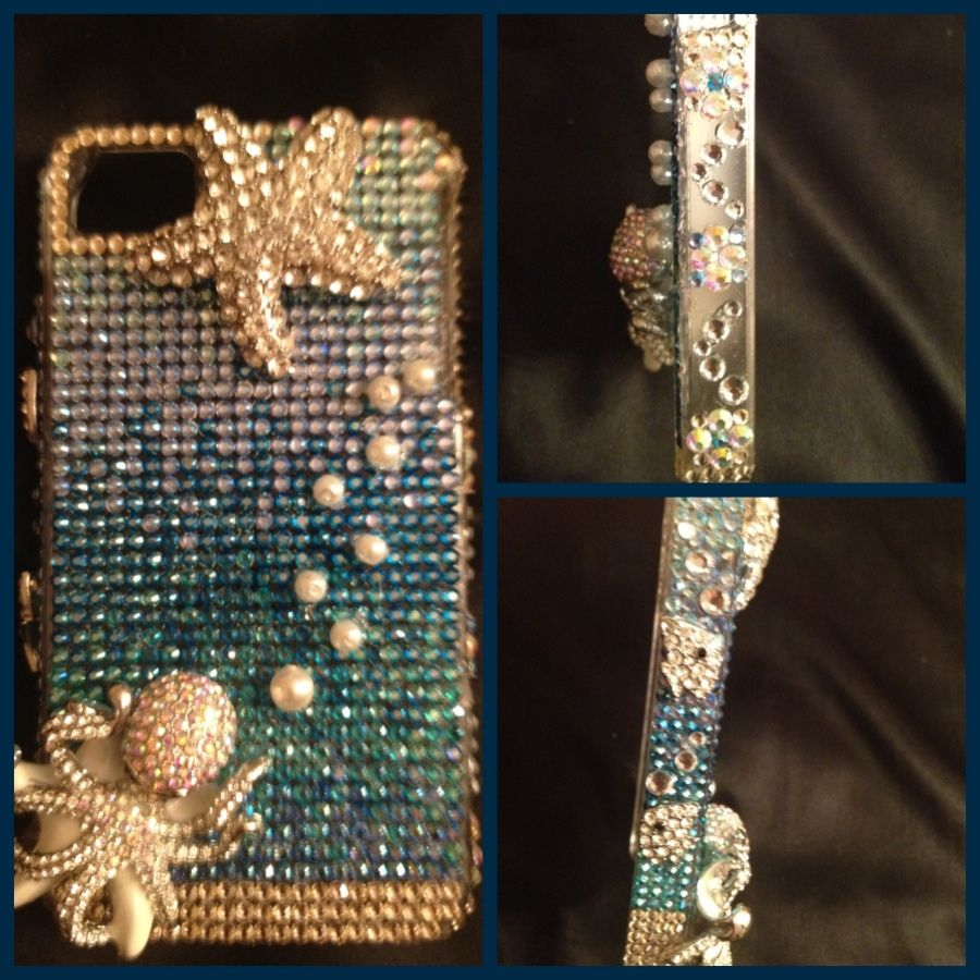 Under the Sea Rhinestoned iPhone case