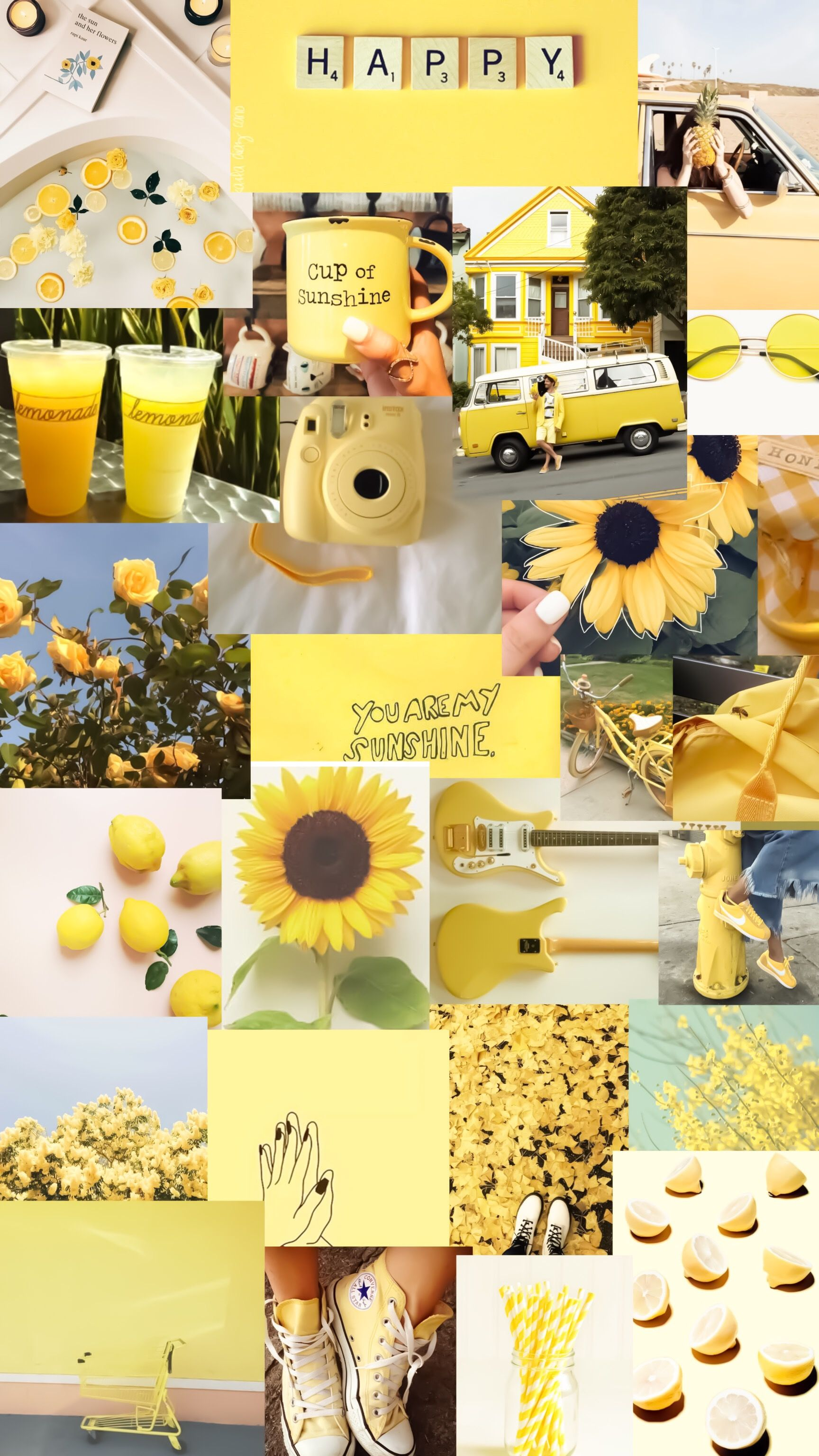 Pin By Fuka Miwa On Homemade Collage Iphone Wallpaper Tumblr Aesthetic Aesthetic Iphone Wallpaper Iphone Wallpaper Yellow